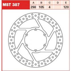 DISC FRANA FATA TRW-LUCAS MST387