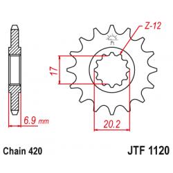 Roata dintata fata JTF1120,11