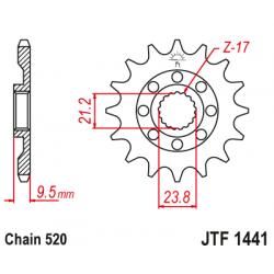 Roata dintata fata JTF1441,15