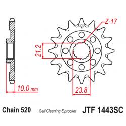 Roata dintata fata JTF1443SC,14