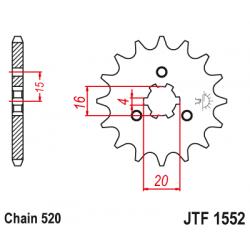 Roata dintata fata JTF1552,10