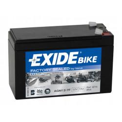 Baterie moto EXIDE 12V - AGM12-7F