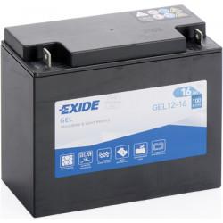 Baterie moto EXIDE 12V - GEL12-16