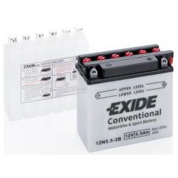 Baterie moto EXIDE 12V - 12N5,5-3B