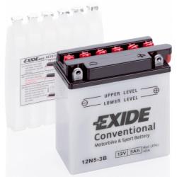 Baterie moto EXIDE 12V - 12N5-3B