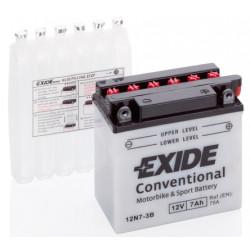 Baterie moto EXIDE 12V - 12N7-3B