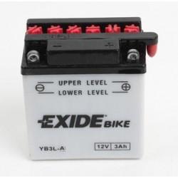 Acumulator moto EXIDE 12V - YB3L-A