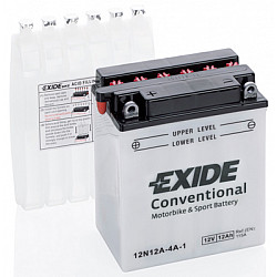 Baterie moto EXIDE 12V - 12N12A-4A-1