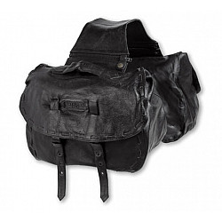 Geantă moto din piele A-PRO CHOPPER BLACK