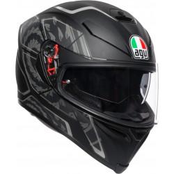 Casca AGV K5-S TORNADO MATT BLACK/SILVER 2020