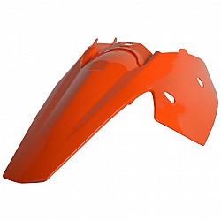 Protecție noroi spate cu panou lateral Polisport KTM SX/ EXC/ SX-F/ EXC-F/ XC/ XC-W/ XCF-W/ XC-F ORANGE OEM Color