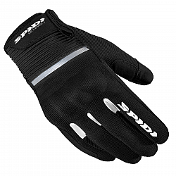 Mănuși moto din textil SPIDI FLASH CE BLACK/WHITE