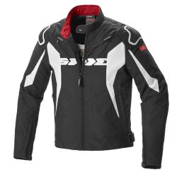Geacă moto din textil SPIDI SPORT WARRIOR TEX BLACK/WHITE