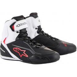 Cizme moto ALPINESTARS FASTER-3 BLACK/WHITE/RED