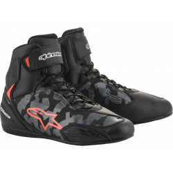 Cizme moto ALPINESTARS FASTER-3 BLACK/GRAY/CAMO/RED