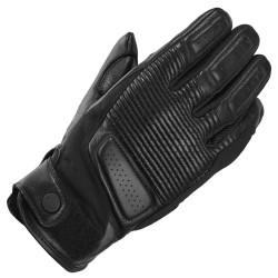 Mănuși din piele SPIDI CLUBBER BLACK