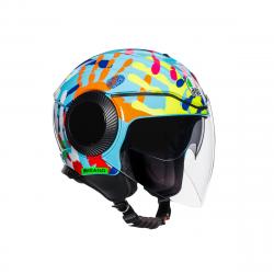 Каска за скутер AGV ORBYT E2205 TOP - MISANO