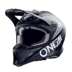Мотокрос каска O'NEAL 10SERIES HYPERLITE CORE BLACK/GRAY