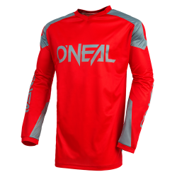 Bluza motocross O'NEAL MATRIX RIDEWEAR RED/GRAY 2021