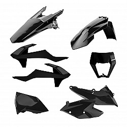 Kit plastic Enduro Polisport pentru KTM  EXC/ EXC-F/XC-W/ XCF-W-2017-19 Black
