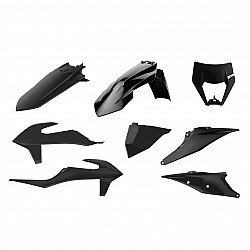 Kit plastic Enduro Polisport pentru KTM EXC/ EXC-F/XC-W/ XCF-W-2020-21 Black