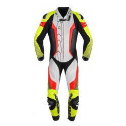 Combinezon moto SPIDI SUPERSONIC PERF PRO BLACK/FLO YELLOW