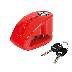 Blocator disc Stone red 90589
