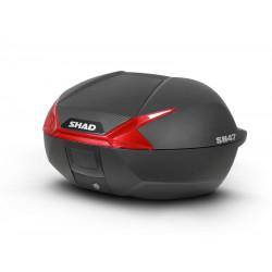 Valiza moto SHAD SH47 RED