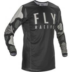 Bluza motocross FLY RACING KINETIC K221-BLACK/GREY