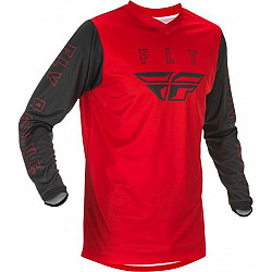 Bluza motocross FLY RACING F-16 2.0-BLACK/RED