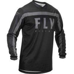 Bluza motocross FLY RACING F-16-BLACK/GREY