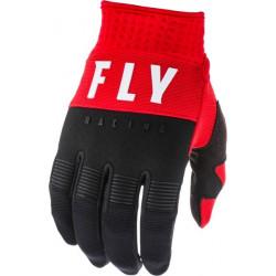 Manusi motocross FLY RACING F-16-BLACK/RED