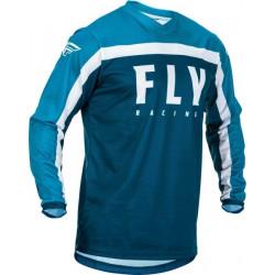 Bluza motocross FLY RACING F-16-BLUE/WHITE