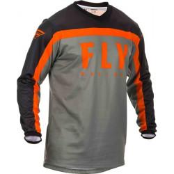 Bluza motocross FLY RACING F-16-BLACK/GREY/ORANGE